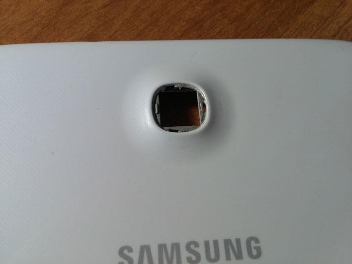 Оклейка планшета карбоном