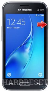 hard reset Samsung j1 mini