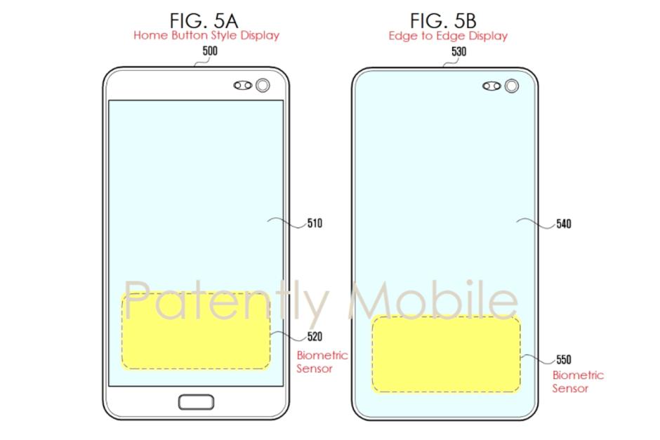 Сканер Samsung Galaxy S10