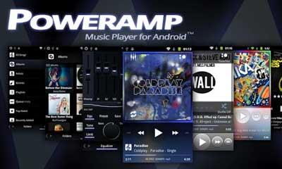 Poweramp плеер для Андроид