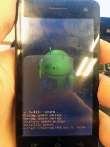 Как прошить смартфон FLY IQ4490i