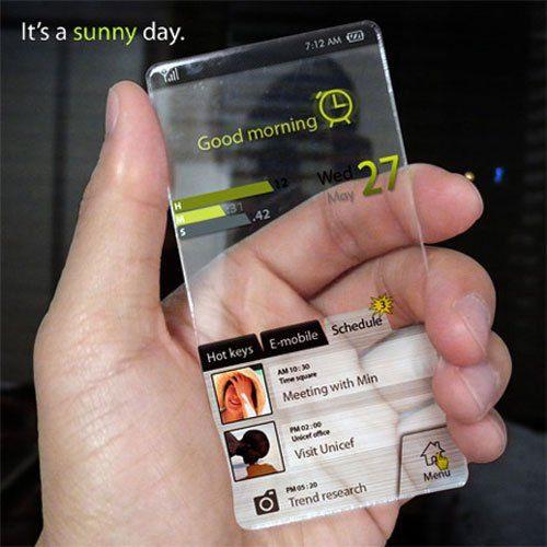 Необычный интерфейс Андроид