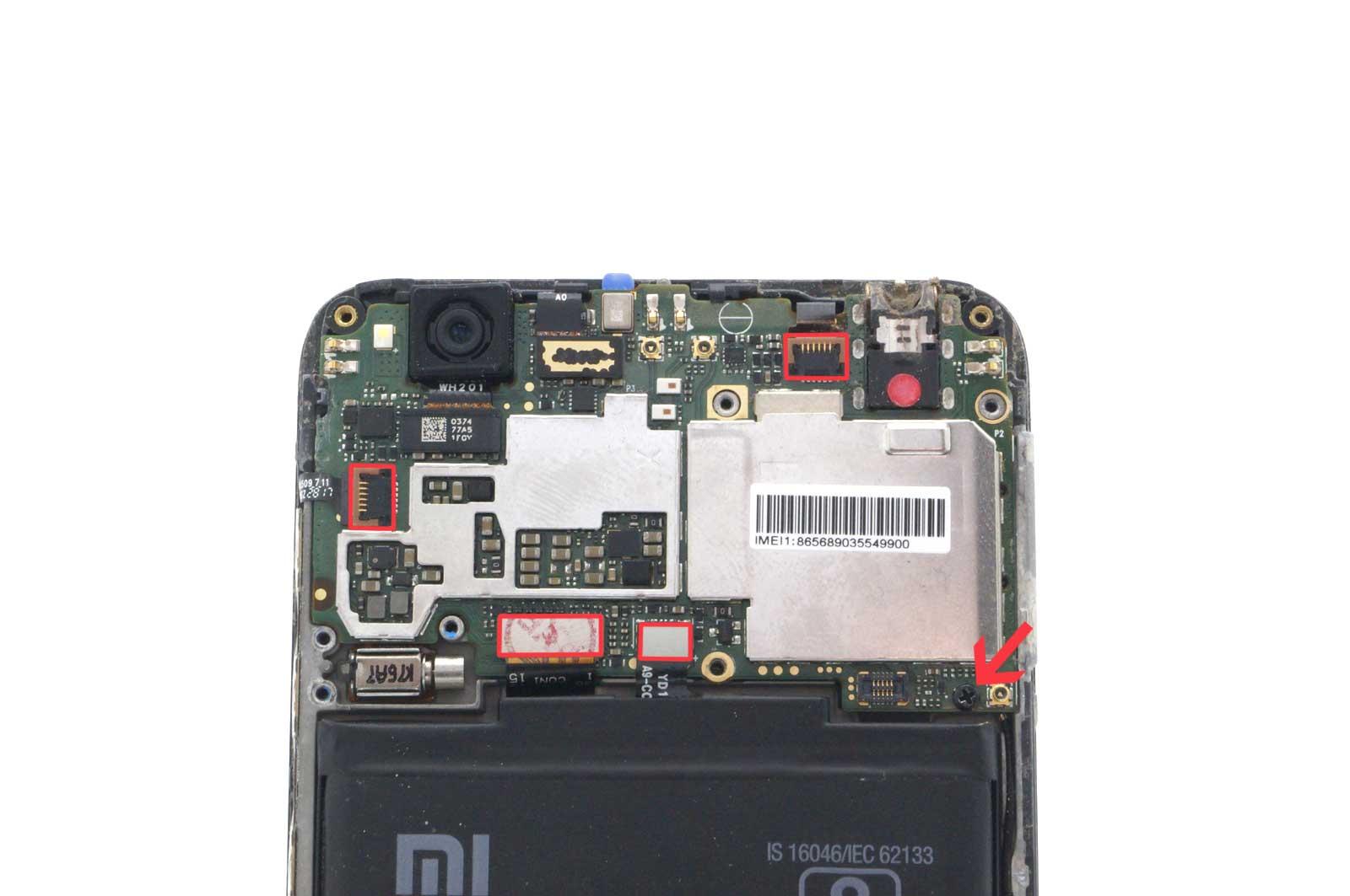 Разборка Xiaomi Redmi 4X