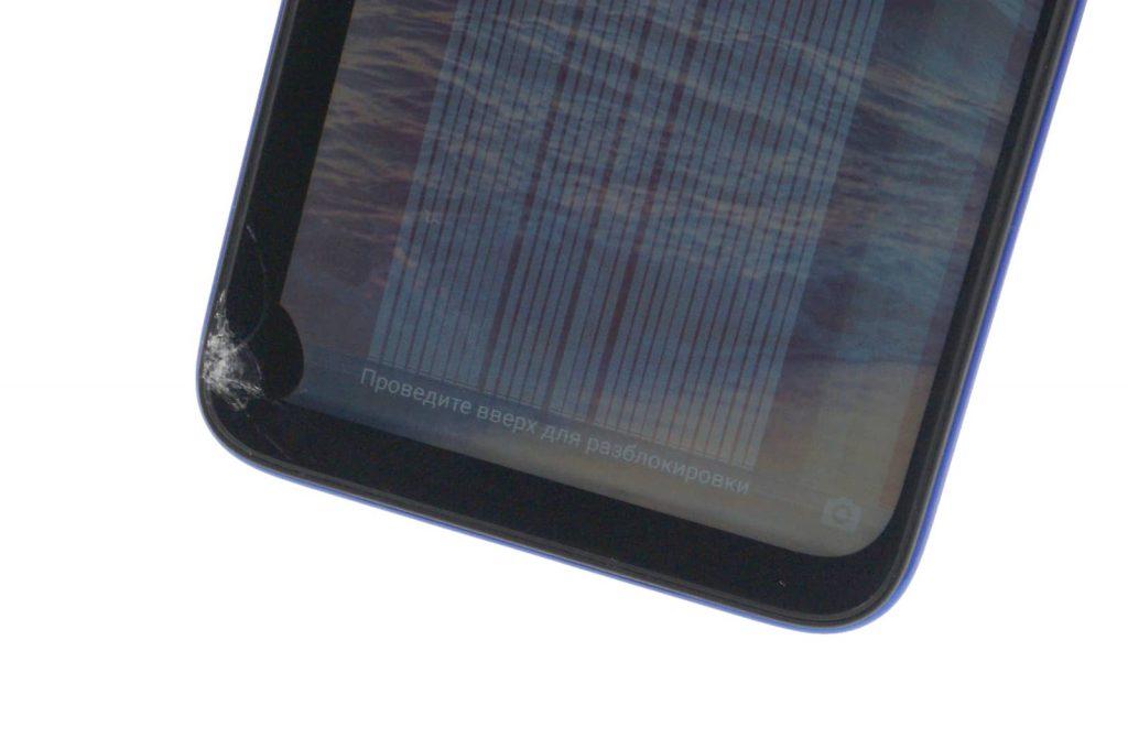 Полосы на дисплее сяоми