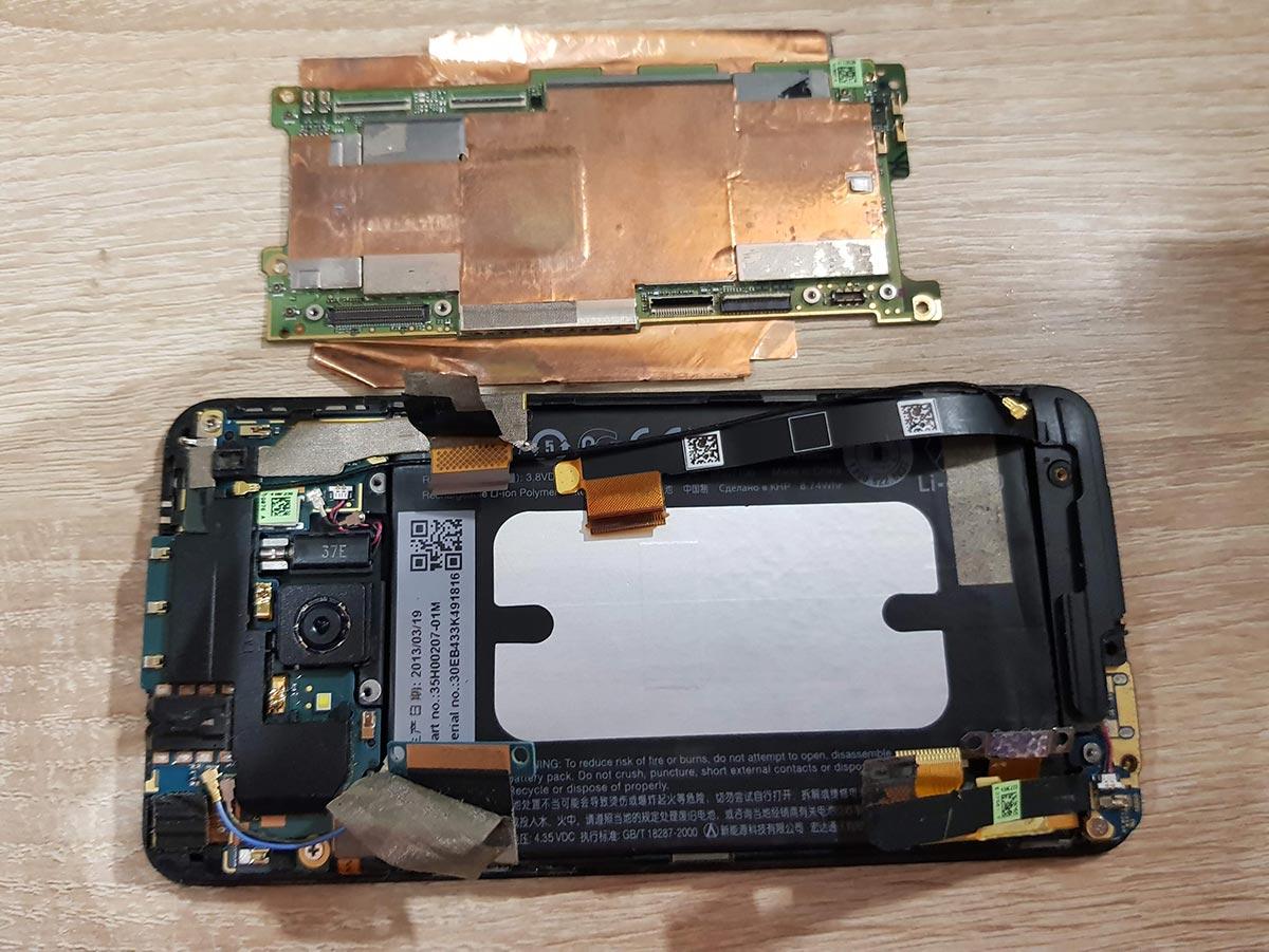 Системная плата HTC One