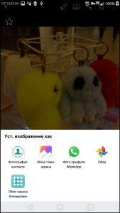 Как поставить фото контакта на весь экран на Андроид