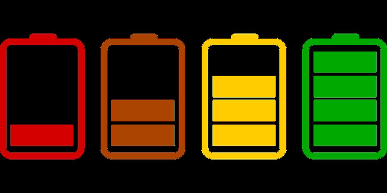 Уровень заряда смартфона