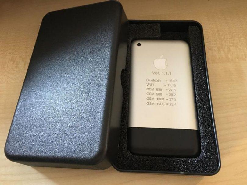 Прототип iPhone на eBay