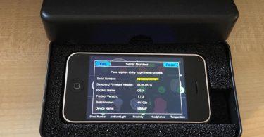 Прототип iPhone 1 поколения