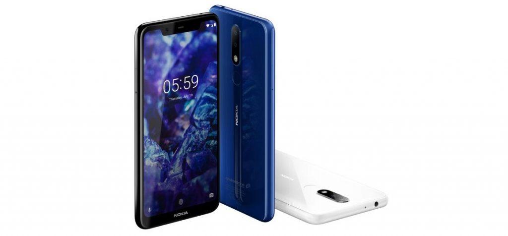"""Компания HMD Global пополнила линейку своих смартфонов моделями Nokia 6.1 Plus и Nokia 5.1 Plus. Новинки отличаются друг от друга размерами дисплея, соотношением памяти и камерами. Смартфоны участвуют в программе Android One. Операционная система подаётся «как есть», без предустановленных приложений от партнеров компании. Также она своевременно получает обновление, то есть к концу 2018 года смартфоны получат Android 9 Pie. Характеристики Nokia 6.1 Plus Модель обзавелась 5,8"""" Full HD+ дисплеем и соотношением сторон 19:9. Он занимает 93% поверхности передней панели. Задняя крышка, как и фронтальная панель, покрыта стеклом. За производительность отвечают чип Qualcomm Snapdragon 636 и ОЗУ объемом 4 ГБ. Внутренняя память на 64 ГБ расширяется за счет карты памяти MicroSD до 256 ГБ. Аккумулятор вмещает 3060 мАч энергии. Основная камера оснащена двумя модулями на 16 и 5 МП, а селфи-камера снимает фото в разрешении 16 МП. Стоимость Nokia 6.1 Plus — €249, или ~20 000 рублей. Характеристики Nokia 5.1 Plus Модель оснащена 5,8"""" HD+ экраном с округленными гранями. Толщина металлического корпуса не превышает 8 мм, а рамка сделана из поликарбоната. Техническая часть основана на процессоре MediaTek Helio P60. Соотношение памяти равно 3/32 ГБ, а аккумулятор вмещает 3060 мАч энергии. В остальном особенности Nokia 5.1 Plus схожи с Nokia 6.1 Plus. Стоимость Nokia 5.1 Plus — €199, или ~16 000 рублей. В будущем HMD Global намерена оснастить свои смартфоны функцией распознавания лиц. Среди поддерживающих технологию моделей оказались Nokia 8 Sirocco, Nokia 7 Plus, Nokia 8 и Nokia 6.1."""