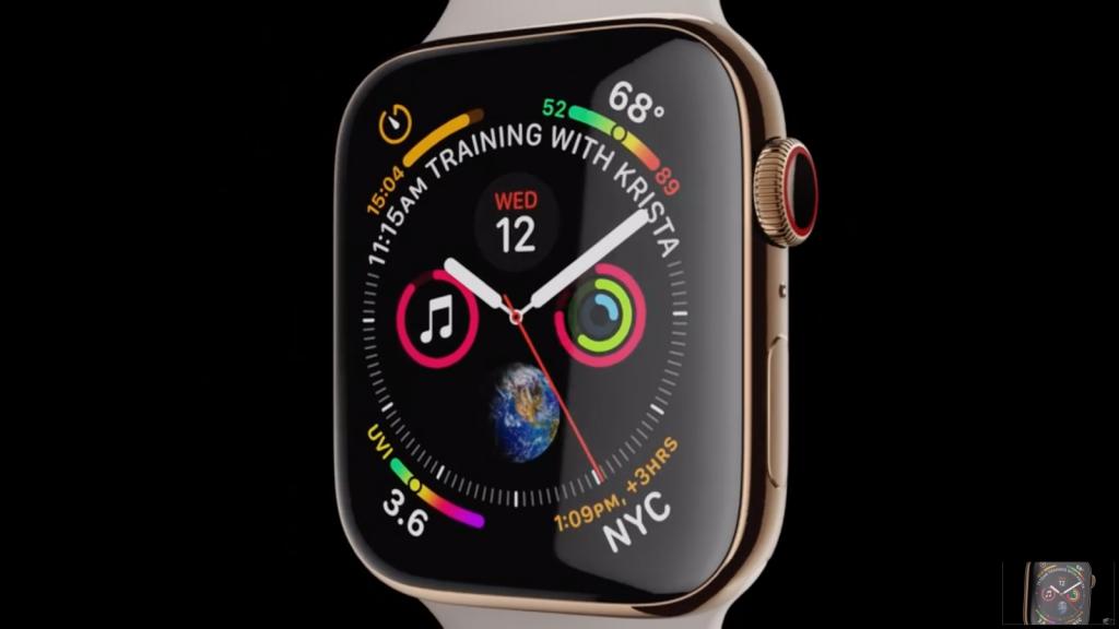 «Умные» часы Apple Watch 4