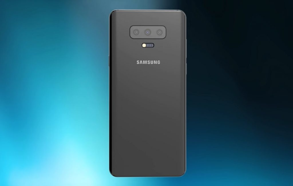 Рендер Samsung Galaxy S10