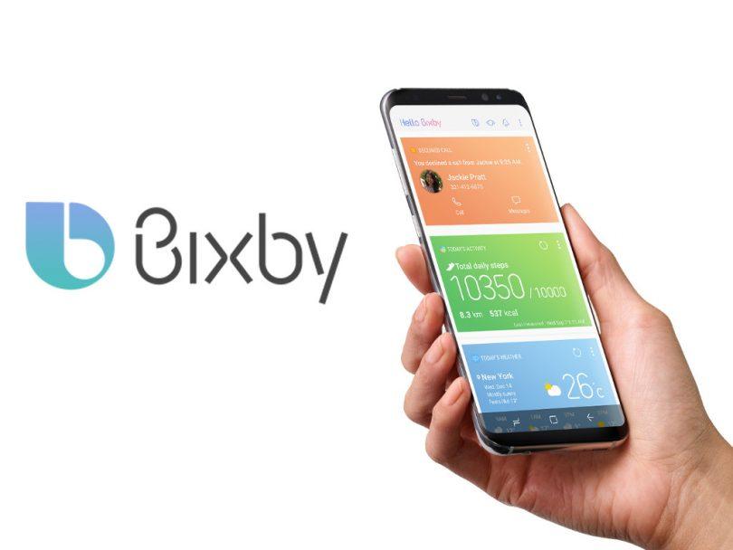 переназначить кнопку Bixby
