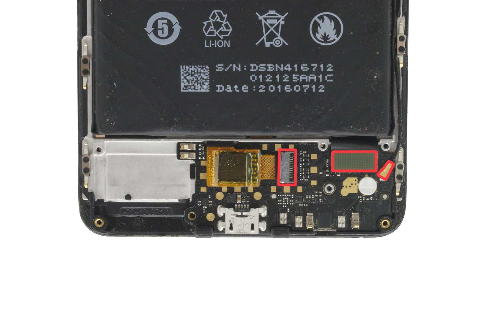 Плата зарядки Xiaomi Redmi Note 4